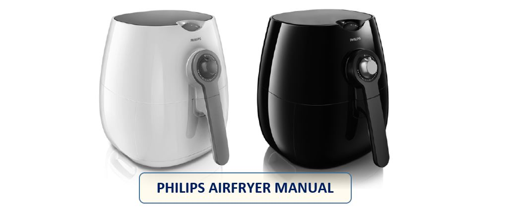 philips airfryer manual